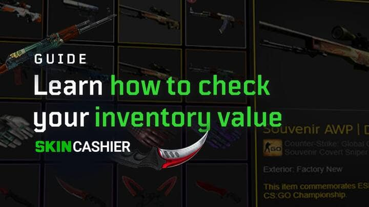 how much your csgo inventory value worth