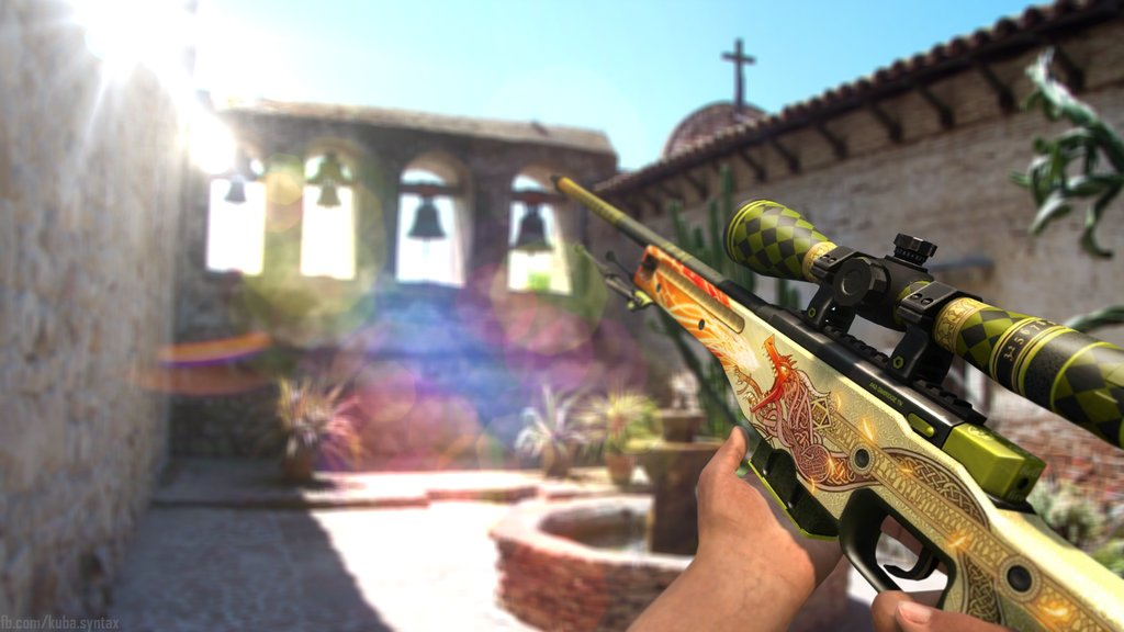 awp dragon lore in game