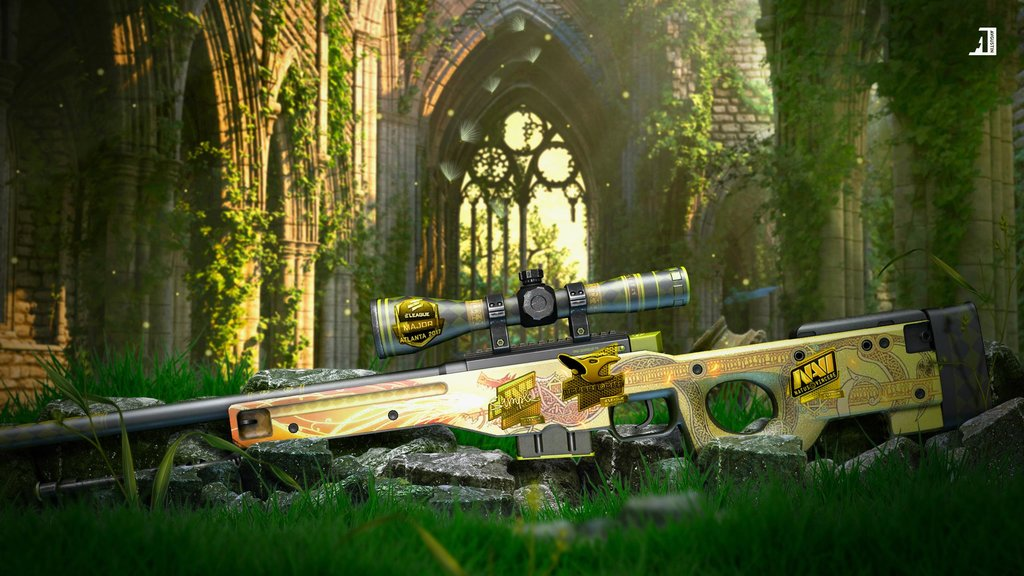 awp dragon lore wallpaper