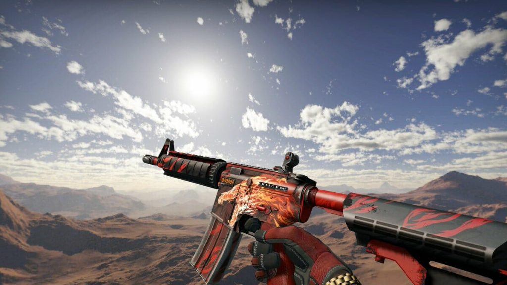 StatTrak M4A4 Howl Factory New