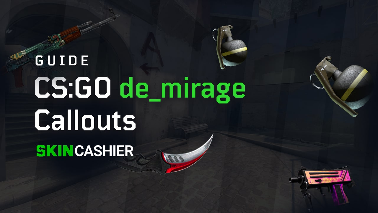 CSGO Mirage Guide & Callouts