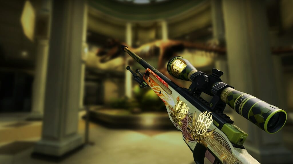 Souvenir AWP Dragon Lore Factory New