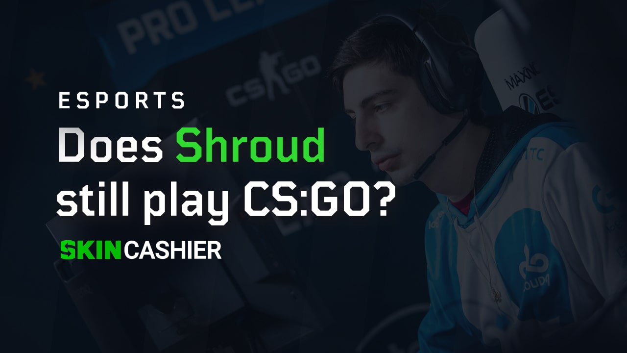 shroud csgo player