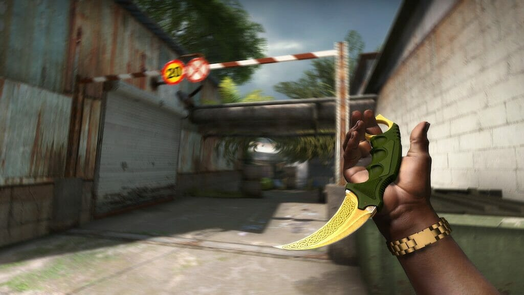 StatTrak Karambit Lore Factory New