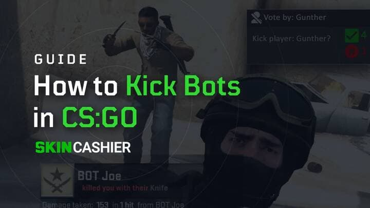 how to kich bots in csgo