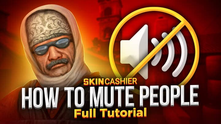 how to mute people in csgo
