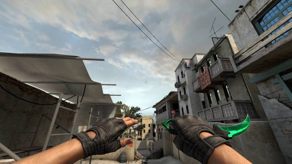 StatTrak Karambit Gamma Doppler Factory New (Emerald)