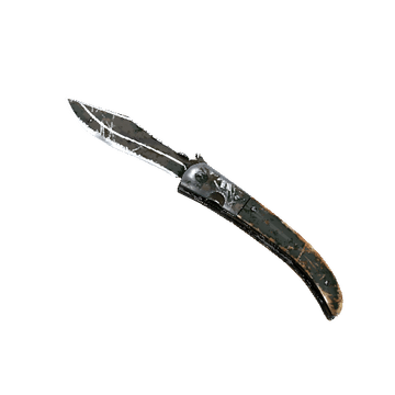 Navaja Knife Forest DDPAT Battle Scarred